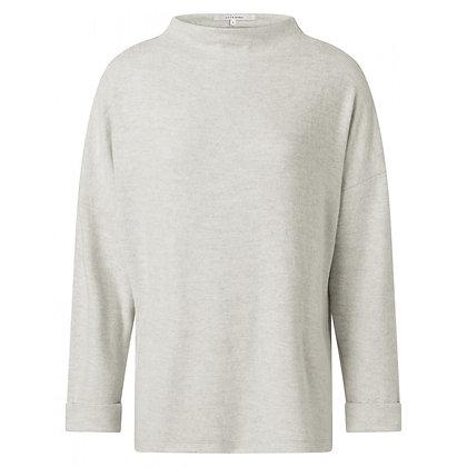 Yaya Brushed Boatneck Sweater Eucalyptus