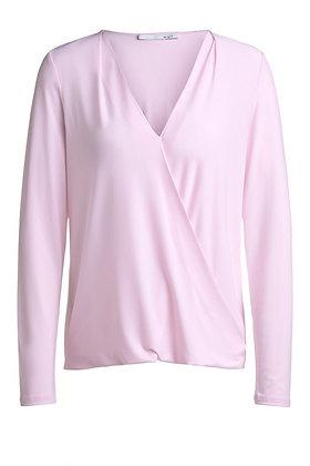 Oui Wrap Style Top.  Pink.