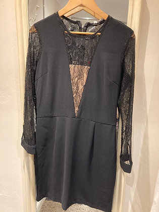 Charlise Lace Panel and Sleeve Dress