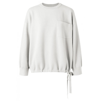 Yaya Boxy Sweater Off White