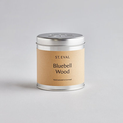 St Eval Bluebell Wood Tinned Candle.