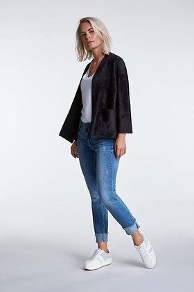 Oui Soft feel Jacket Black