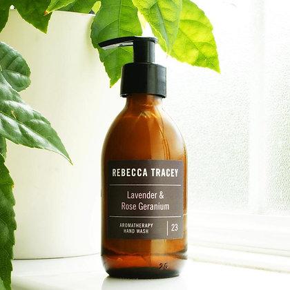 Rebecca Tracy Aromatherapy Handwash Lavender and Rose Geranium