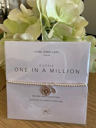 Joma A Little One In A Million Bracelet