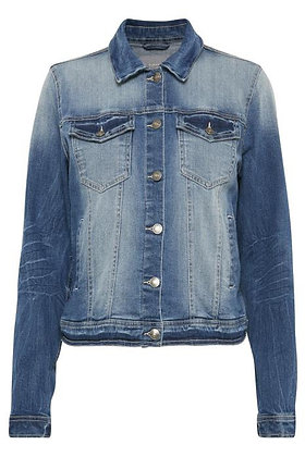BYoung Denim Jacket Mid Blue