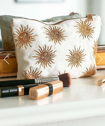 Elizabeth Scarlett Sun Goddess Make up Bag