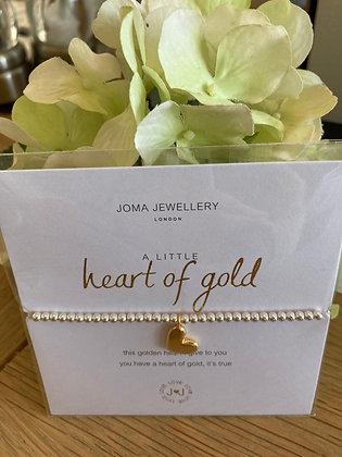 Joma A Little Heart Of Gold Bracelet