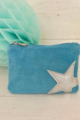 Luella Small Star Purse Blue/Silver