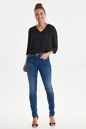 Fransa Mid Wash Zoza Jeans