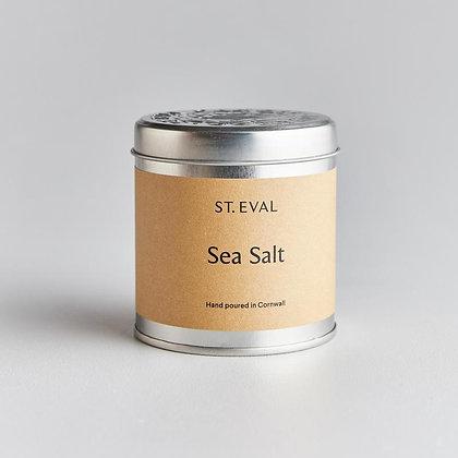 St Eval Seasalt Tinned Candle.