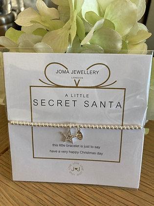 Joma A Little Secret Santa Bracelet