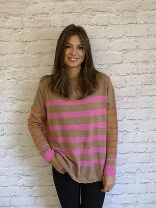 Luella Winnie Cashmere Mix Sweater