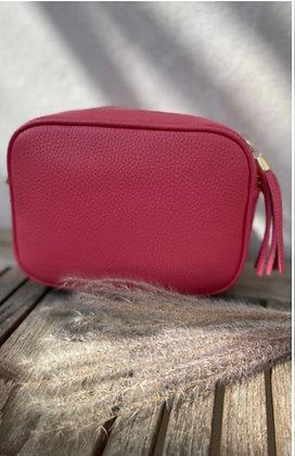 Leather Camera Bag Watermelon