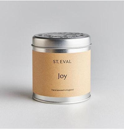St Eval Joy Tinned Candle.