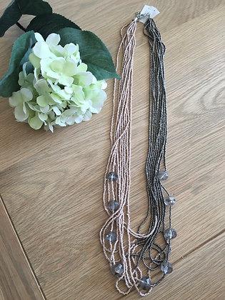 Envy Multi Strand Bead Necklace