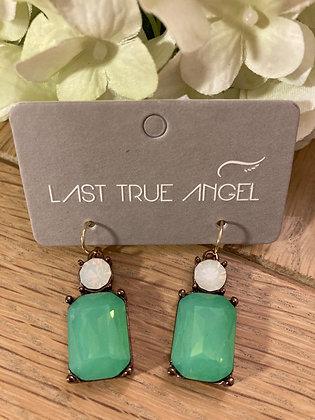 Last True Angel Deco Mid Green and Opal