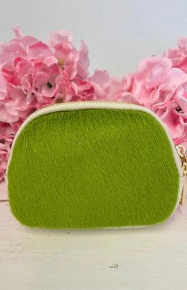 Luella Cowhide Purse Green