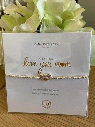 Joma A Little Love You Mum Bracelet