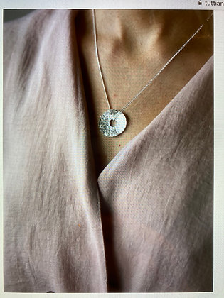 Tutti and Co Sole Necklace Silver