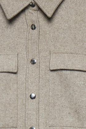 Dranella Wool Mix Shirt Frappe'
