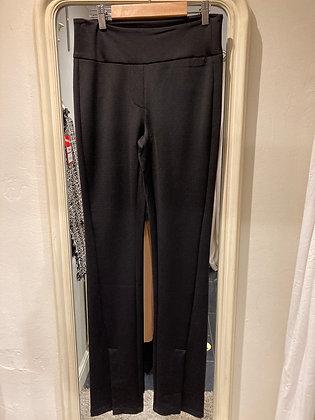 Yaya Stretch Trousers with Split Hem