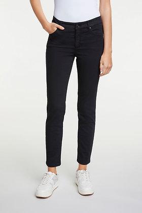 Oui Baxtor Jeans, Slim Fit.  Black