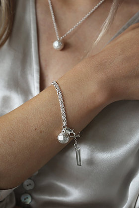 Tutti and Co Orb Bracelet Silver