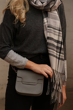 Mid Grey/Taupe Cross Body/Belt Bag