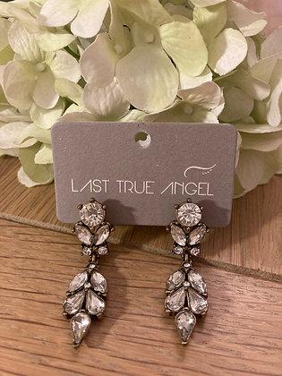 Last True Angel Vintage style Diamante Earrings