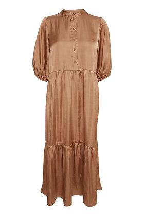 BYoung Silky Feel Dress Caramel