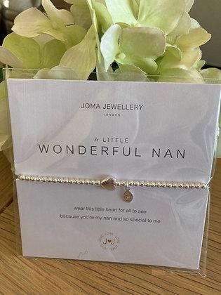 Joma A Little Wonderful Nan Bracelet