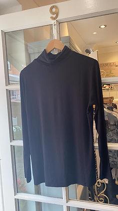 Dranella Black Jersey Polo Neck .
