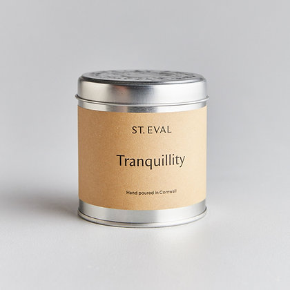 St Eval Tranquility Tinned Candle.
