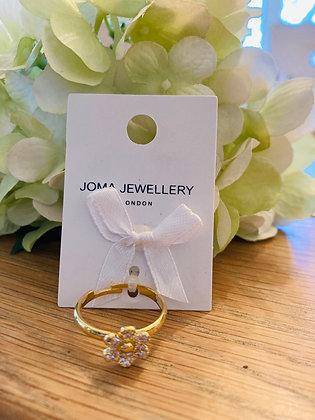 Joma Daisy Ring Gold Plated
