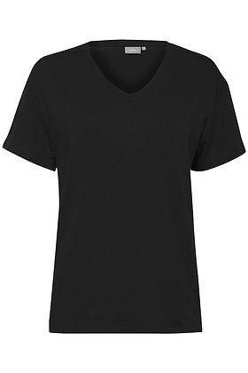 BYoung Byrexima V-neck T-shirt.  Black