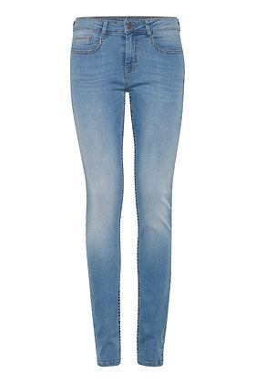 Fransa Light Wash Zoza Jeans