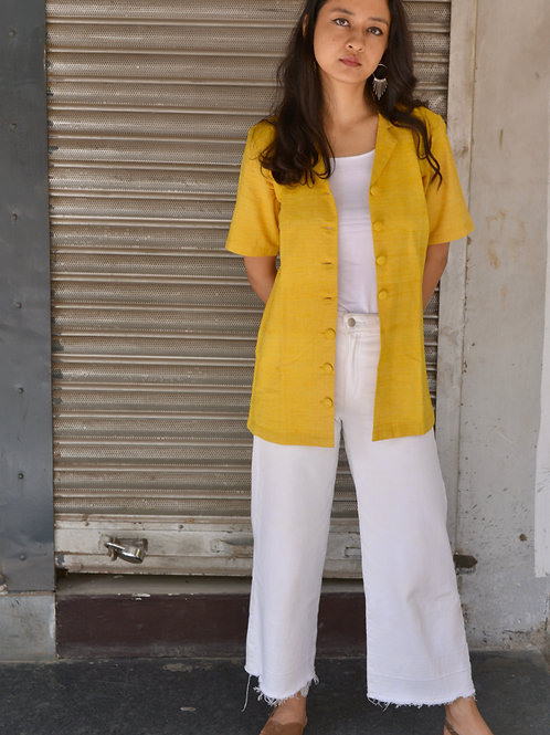 Turmeric yellow shirt