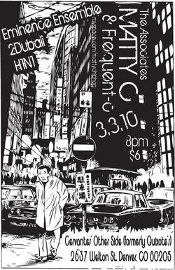 Matty C. Concert Poster & Flyer
