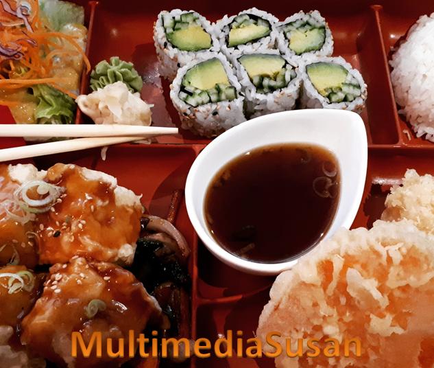 Momiji - Vegetarian bento