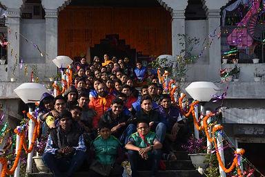 A view from Kripalu Kunj, DarjeelingWB, India