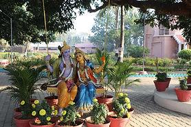 A view from Braj Gopika Dham, Tangi