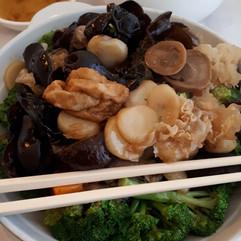 The Perfect Kitchen, Mississauga - tofu & mushroom dish