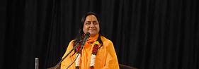 Raseshwari Devi Ji while giving discourse