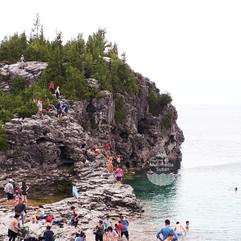 The Grotto, Bruce Peninsula, ON, Canada