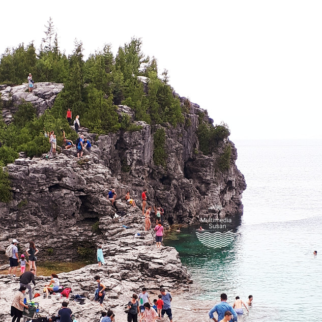 The Grotto, Bruce Peninsula, ON, Canada