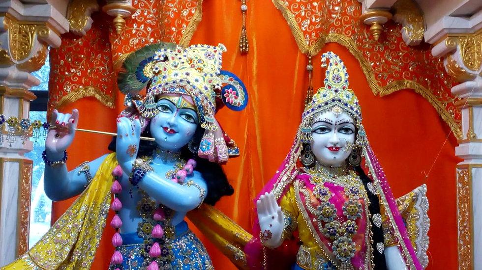 Radha Krishna at Braj Gopika Dham