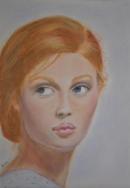 Portrait Young Model