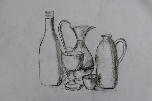 A still life drawing workshop