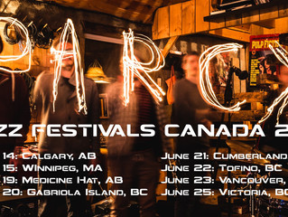 Parc X trio's Jazz Festivals Canada tour is coming up