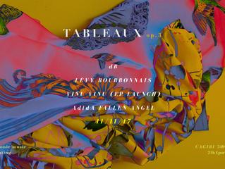 Tableaux op.3 live electronic music + live painting at Le Cagibi November 11th (+ viñu-vinu EP Launc